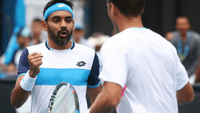Photo of Divij Sharan knocked out in Australian Open second round
