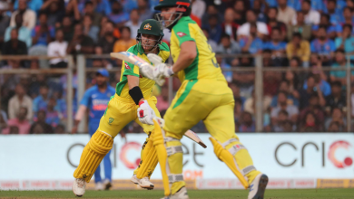 Photo of Dominant Australia inflict humiliating defeat on India in first Odi at Wankhede