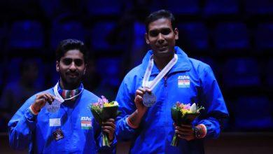 Photo of Sathiyan Gnanasekaran-Sharath Kamal pair finishes runners up in Hungarian Open