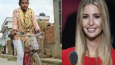 Photo of Ivanka Trump praises Indian girl who covered 1200kmsin 7 days, Cycling Federation calls her for trial