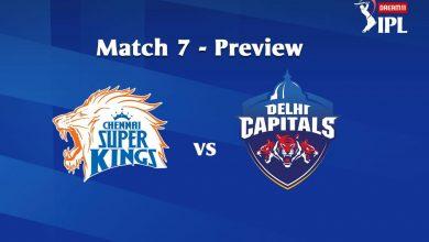 Photo of IPL Prediction: Chennai Super Kings Vs Delhi Capital Match Preview, Tips
