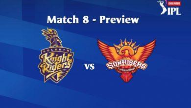 Photo of IPL Prediction: Kolkata Knight Riders Vs Sunrisers Hyderabad Match Preview, Tips