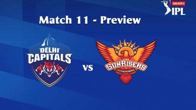 Photo of IPL Predictions: Delhi Capitals vs Sunrisers Hyderabad Match Preview, Tips
