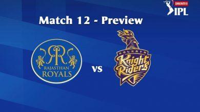 Photo of IPL Predictions: Rajasthan Royals vs Kolkata Knight Riders Match Prediction, Tips