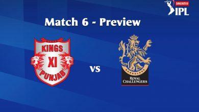 Photo of IPL Prediction: Kings XI Punjab Vs Royal Challenger Bangalore Match Preview, Tips