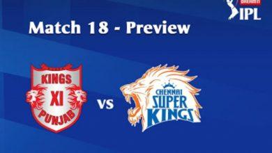 Photo of IPL Prediction: KingsXI Punjab vs Chennai Super Kings Match Preview, Tips