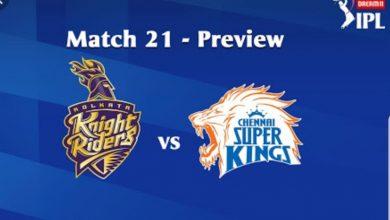 Photo of IPL Predictions: Kolkata Knight Riders vs Chennai Super Kings Match Preview, Tips