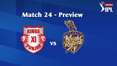 Photo of IPL Prediction: KingsXI Punjab vs Kolkata Knight Riders Match Preview, Tips
