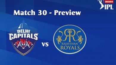 Photo of IPL Prediction: Delhi Capitals vs Rajasthan Royals Match Preview, Tips