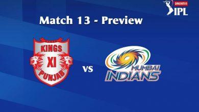 Photo of IPL Predictions: KingsXI Punjab vs Mumbai Indians Match Preview, Tips