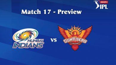 Photo of IPL Prediction: Mumbai Indians vs Sunrisers Hyderabad Match Preview, Tips