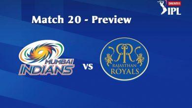 Photo of IPL Prediction: Mumbai Indians vs Rajasthan Royals Match Preview, Tips