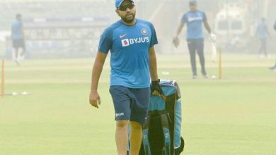 Photo of Rohit Sharma starts his fitness training at NCA