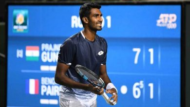 Photo of Second straight runner-up finish for Prajnesh GunneSwaran
