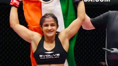 Photo of Ritu Phogat extends her unbeaten MMA record, wins her bout inside four minutes