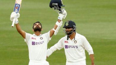 Photo of India vs Australia: Skipper Ajinkya Rahane's century puts India in command against hosts