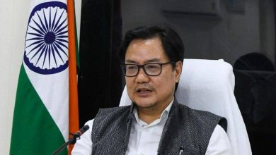 Photo of Sports Minister Rijiju inaugurates 162-bed hostel at Karni Singh range