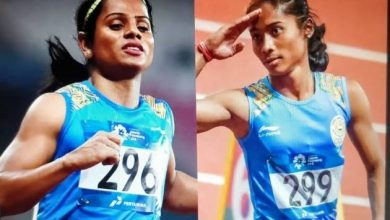 Photo of Hima Das and Dutee Chand to team up in the 4x100m relay in India's bid to qualify for the Tokyo Olympics