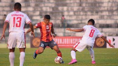 Photo of PRITAM SINGH'S STUNNING GOAL HELPS ROUNDGLASS PUNJAB SECURE THEIR FIRST VICTORY