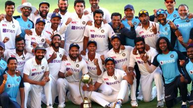 Photo of India climbs to top of World Test Championship standings after series win over Australia