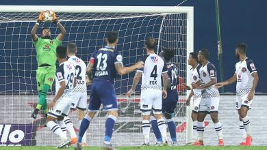 Photo of 10-man East Bengal hold Chennaiyin to a draw