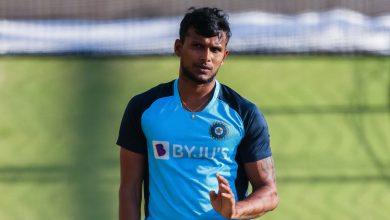 Photo of T Natarajan named as replacement for Umesh Yadav in India's Test squad