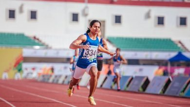 Photo of Athletics: Dutee Chand wins 100m event at Indian Grand Prix I on return to action