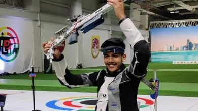 Photo of Aishwary Pratap Tomar wins gold in 50m rifle 3 positions