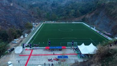 """Photo of """"We have a target of 24 artificial turf in Mizoram, which will be a record in India"""" :- Robert Royte"""