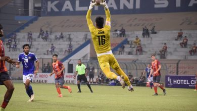 Photo of I-League: Chencho's brilliant strike helps RoundGlass Punjab clinch a dominating win over Real Kashmir
