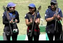 Photo of ISSF Shooting World Cup : Indian women claim team gold medal in trap