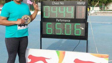 Photo of Kamalpreet Kaur breaks national record in women's discus throw, qualifies for Tokyo Olympics