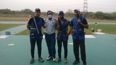 Photo of Gold for Indian men's skeet team, women settle for silver