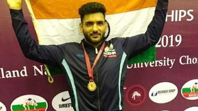 Photo of Wrestler Sandeep Mann books 74kg slot for next month's Asian Olympic Qualifiers in Kazakhstan