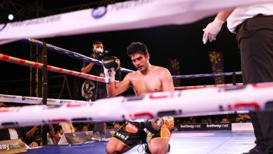 Photo of Vijender Singh loses to Artysh Lopsan, 12-match unbeaten streak in professional circuit comes to end