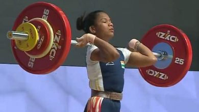 Photo of Jhilli wins gold at Asian Weightlifting Championship