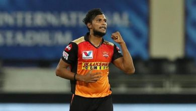 Photo of IPL 2021: T Natarajan ruled out of tournament with knee injury