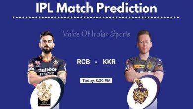 Photo of IPL Prediction : Royal Challengers Banglore vs Kolkata Knight Riders Match Prediction