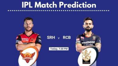 Photo of IPL Prediction : Sunrisers Hyderabad Vs Royal Challengers Bangalore, Match Prediction