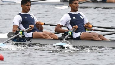 Photo of Arjun Jat, Arvind Singh qualify for rowing men's doubles sculls event for Tokyo