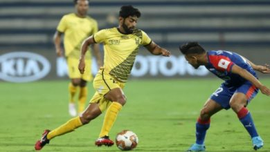 Photo of ISL has given structure to Indian football: Hyderabad FC's Nikhil Poojary