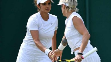 Photo of Sania and Mattek-Sands stun sixth seeds to enter Wimbledon 2nd round