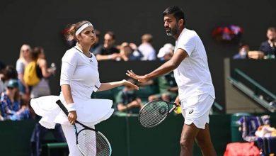 Photo of Rohan Bopanna, Sania Mirza win historic all-Indian Wimbledon match