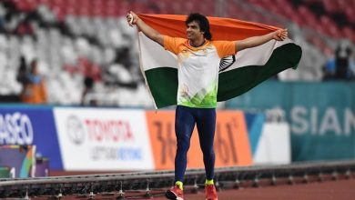 Photo of Olympic Gold medallist Neeraj Chopra rises to number 2 in world rankings