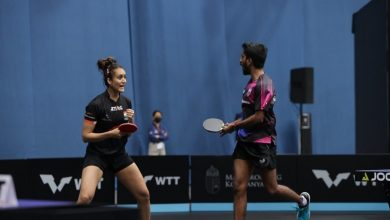Photo of Manika Batra In Singles Semis And Mixed Doubles Final At WTT Contender