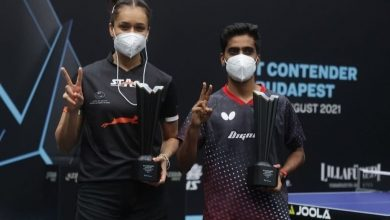 Photo of Manika Batra-G Sathiyan win mixed doubles title in Budapest