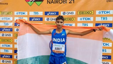 Photo of World Athletics U20 Championships: Amit Khatri wins India's second medal at the event