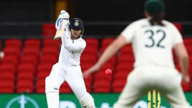 Photo of Day/Night Test: Mandhana scores career-best 80 on Day 1