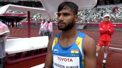 Photo of Tokyo Paralympics: Debutant Praveen Kumar clinches silver in men's T64 high jump