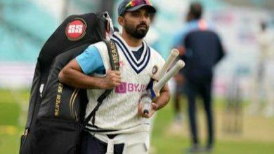 Photo of India vs England: Batting coach Vikram Rathour says Ajinkya Rahane's form not a 'concern'